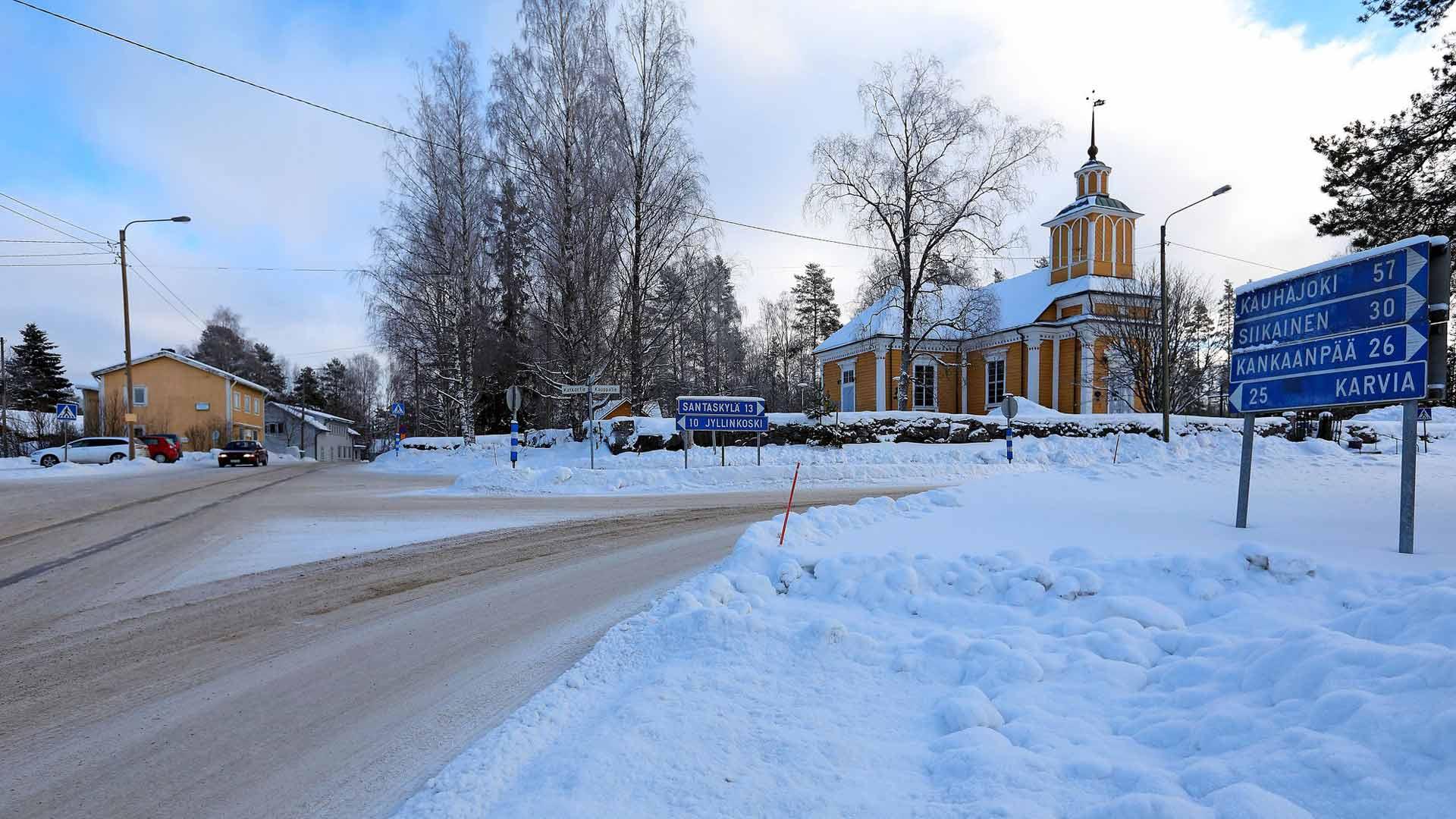 Pohjoisesta Satakunnasta löytyy Suomen perussuomalaisin kunta, Honkajoki, joka tosin on kuntaliitoksen jälkeen nyt osa Kankaanpään kaupunkia.
