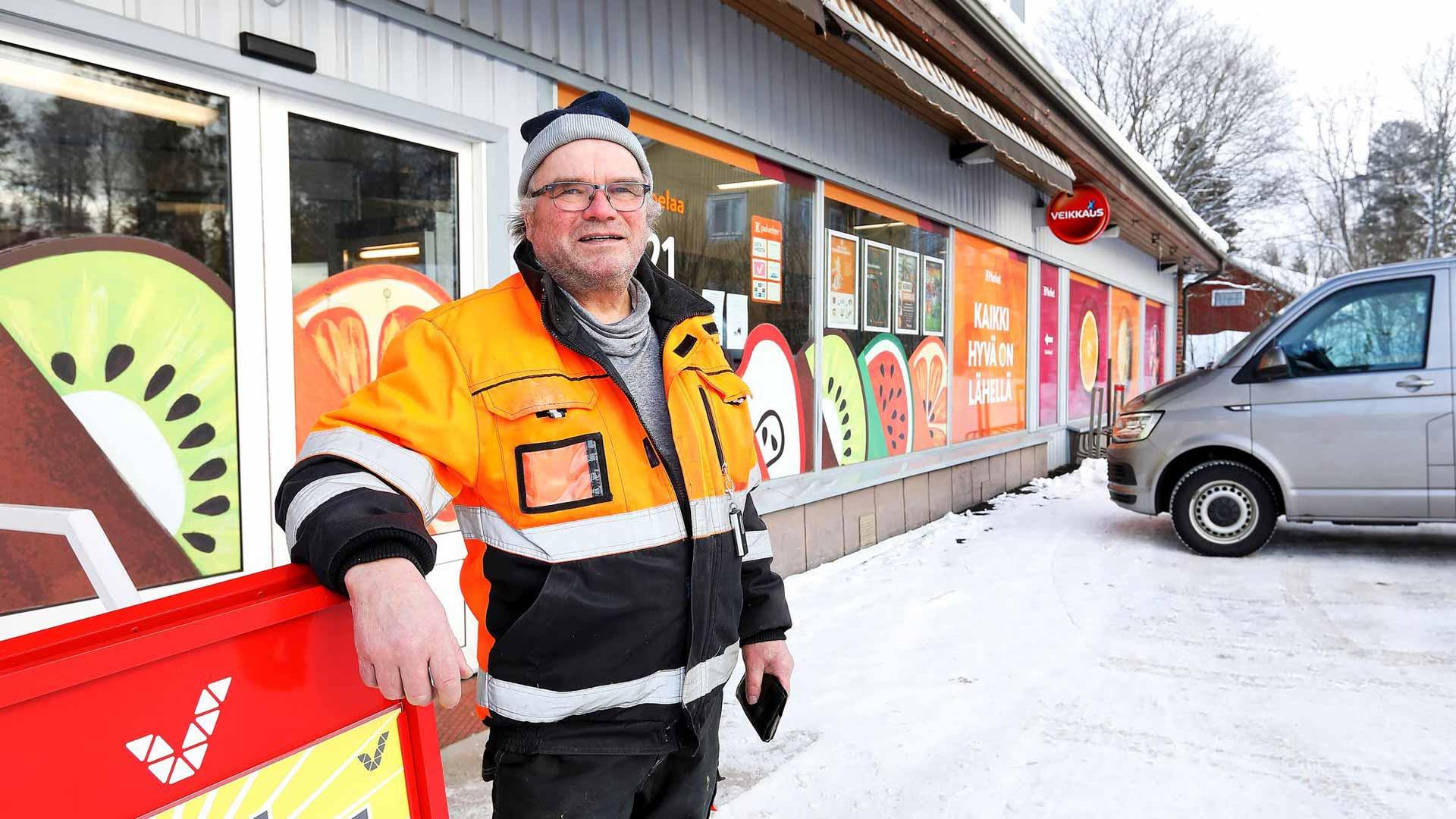 Matti Eloranta aikoo äänestää kuntavaaleissa sopivaa henkilöä. Valinta on aikanaan helppo tehdä, koska hän tuntee lähes kaikki honkajokelaiset.