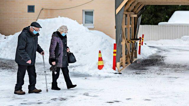 Jussi ja Laura Kyllönen Kärsämäellä