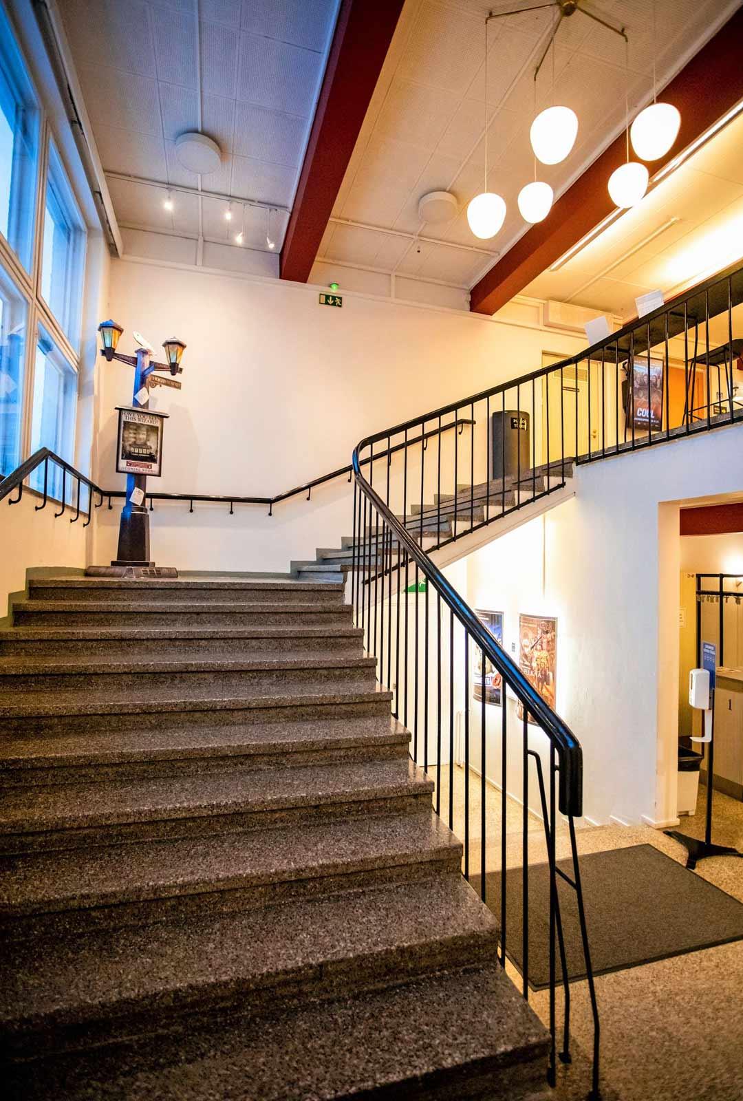 Perheyrityksellä on Savonlinnassa toinenkin leffateatteri, avarampi Kuvalinna.