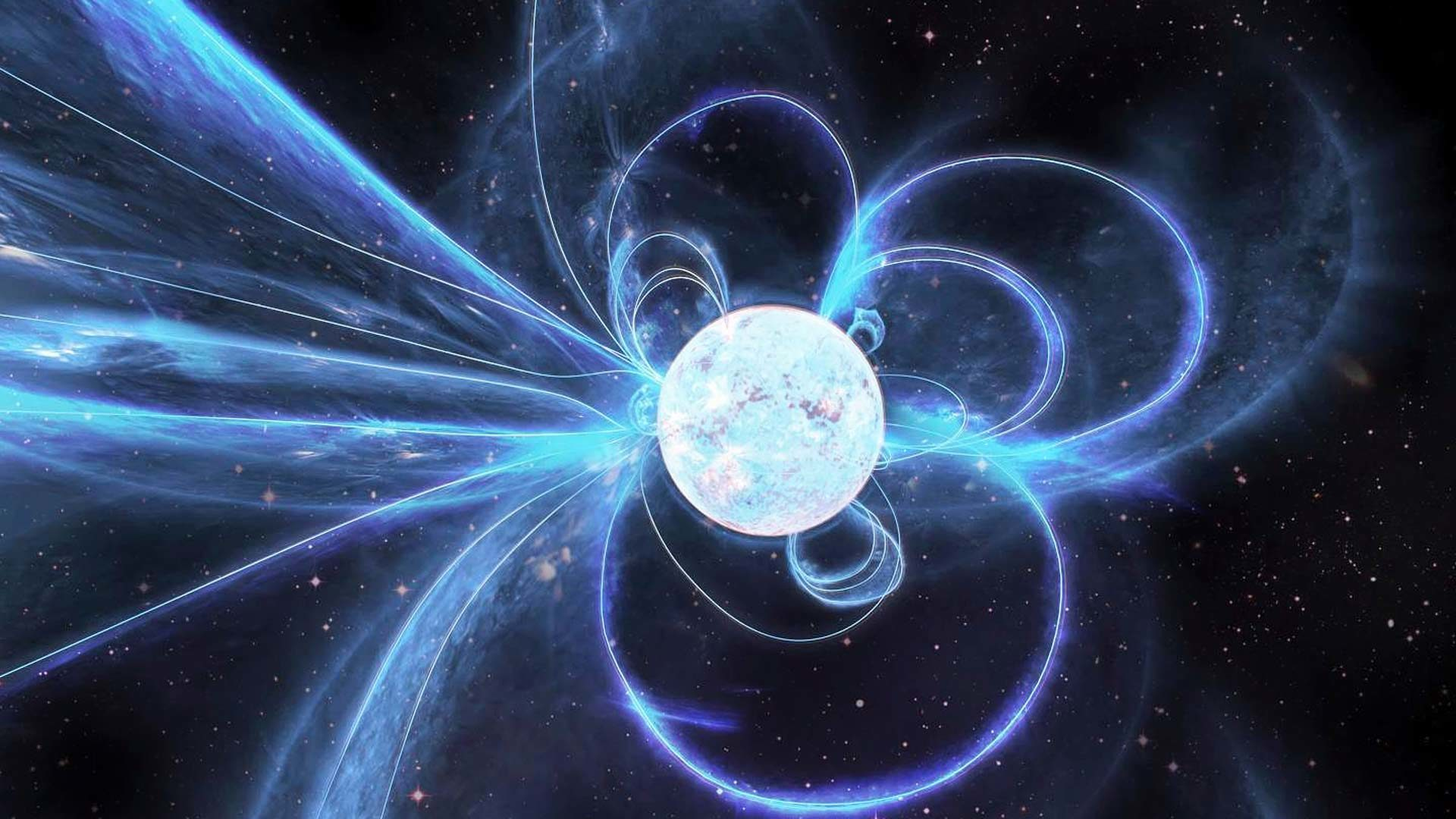 Välillä neutronitähti hehkui tasaisesti, mutta välillä se taas sykki kuin pulsari.