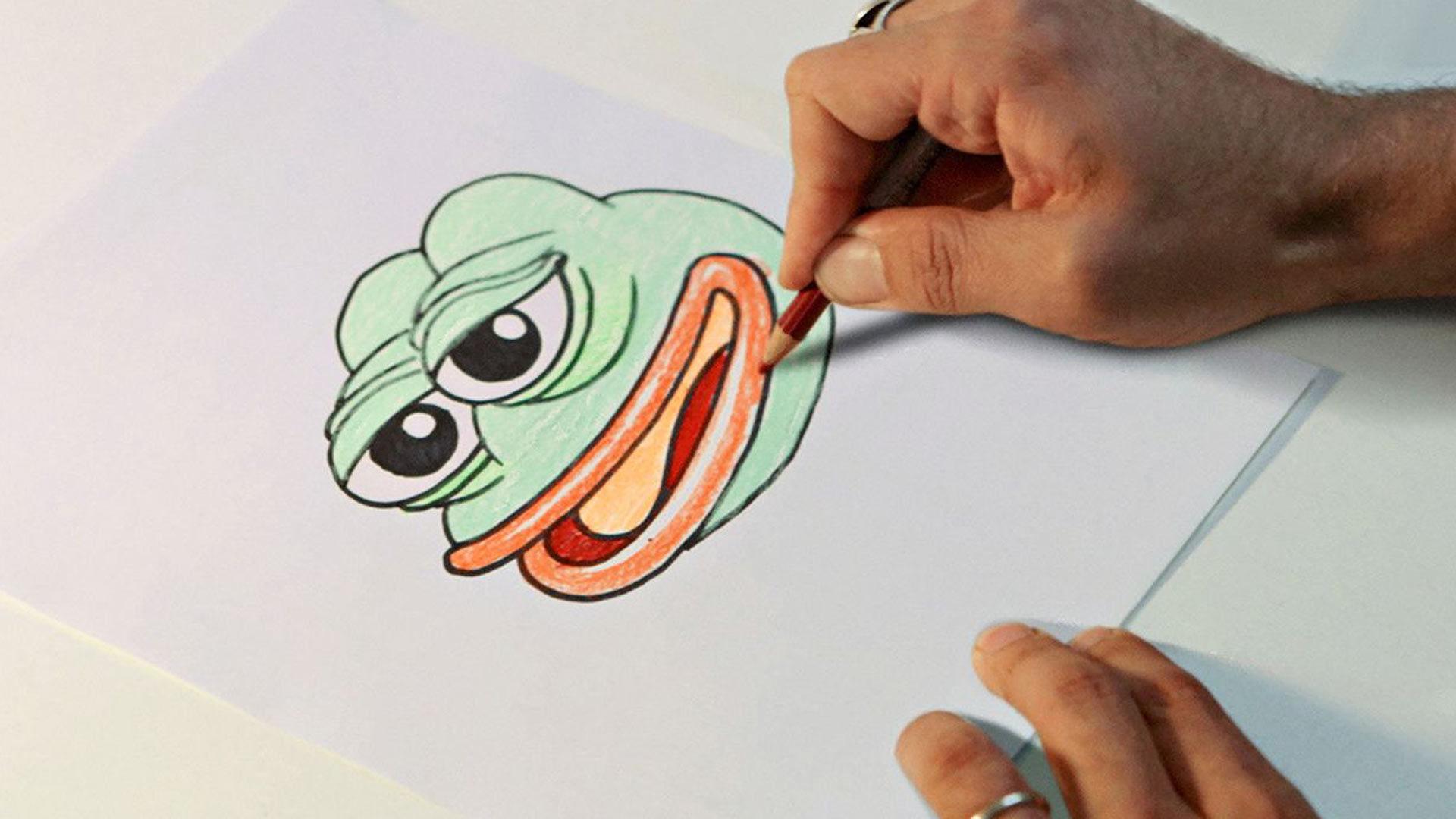 Feels Good Man, kuvassasammakko Pepe.