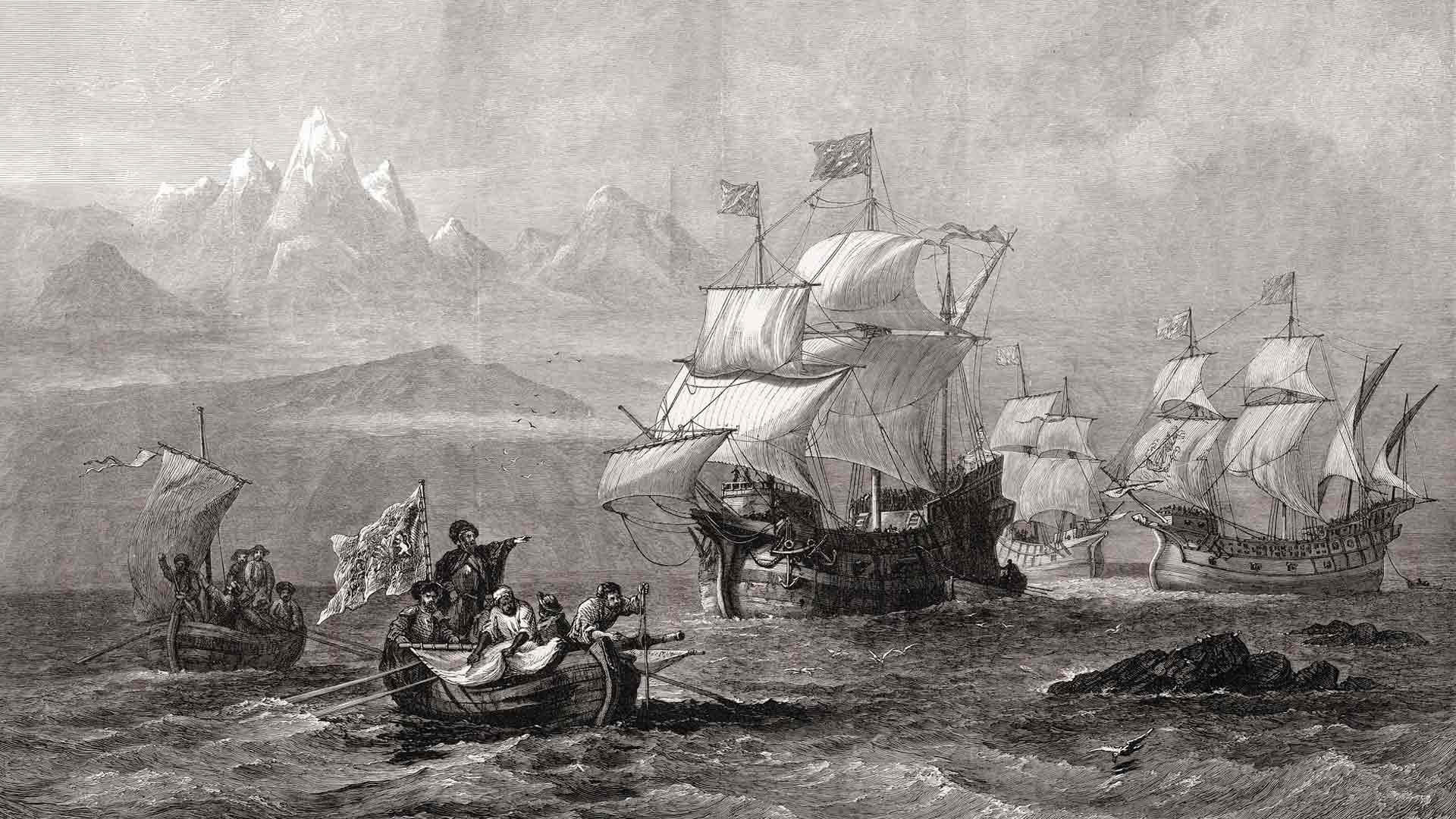 Fernão de Magalhães ja laivasto