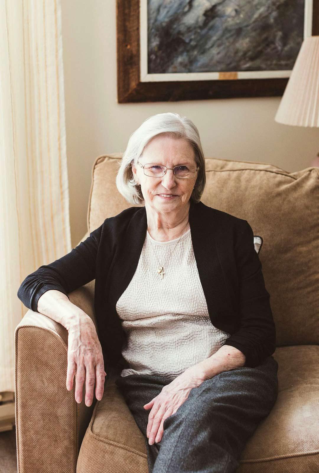 Mirjam Rissanen muutti 9-vuotiaana Varkaudesta Kanadan Ontarioon. Nykään hän asuu Sault Ste. Marien kaupungin seniorikodissa.
