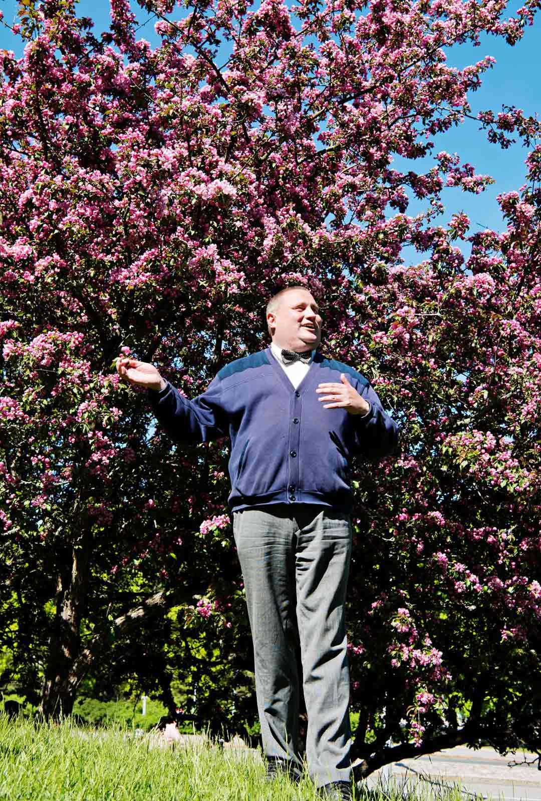 puutarhuri Mikko Lagerström