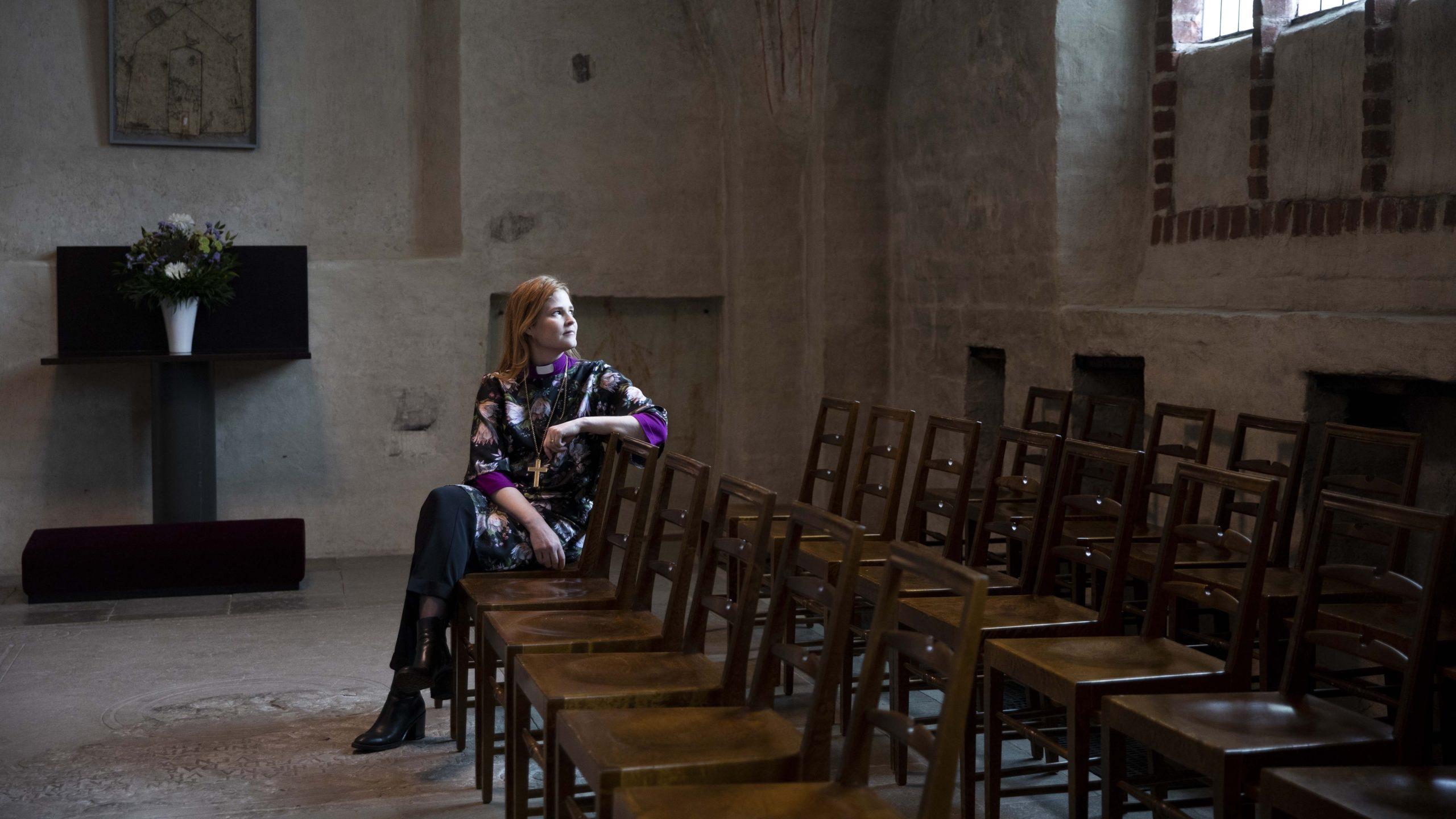 Turun piispa Mari Leppänen haluaa edistää tasa-arvon toteutumista kirkon sisällä.