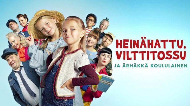 Matilda Pirttikangas ja Emelia Levy tähdittävät elokuvaa Heinähattu, Vilttitossu ja ärhäkkä koululainen.