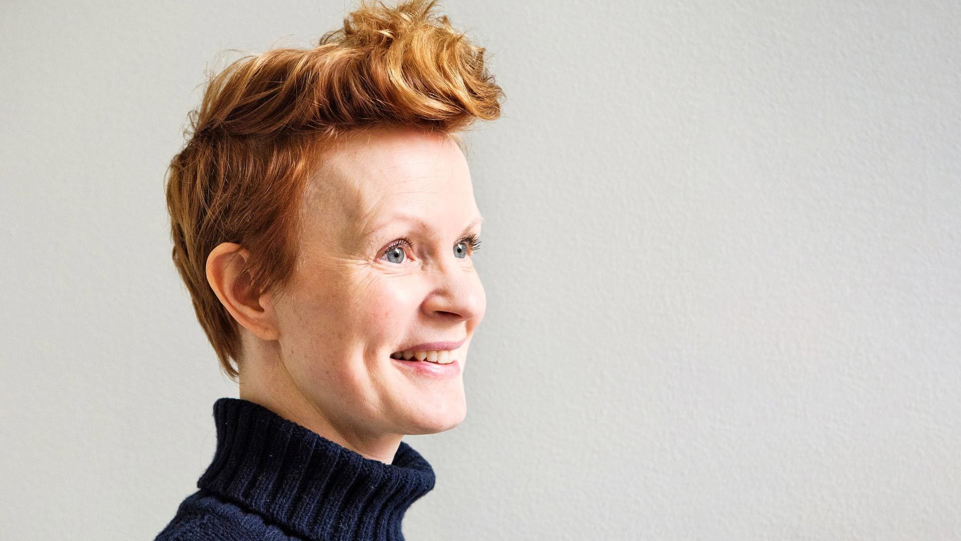 Tuottaja-näyttelijäMinna Haapkylä, 47, on mukana Elisa Viihteellä nähtävässä Kioski -sarjassa, jonka on myös tuottanut.