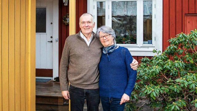 Ruotsisuomalaisten Markku ja Laura Kemppaisen kotitalo