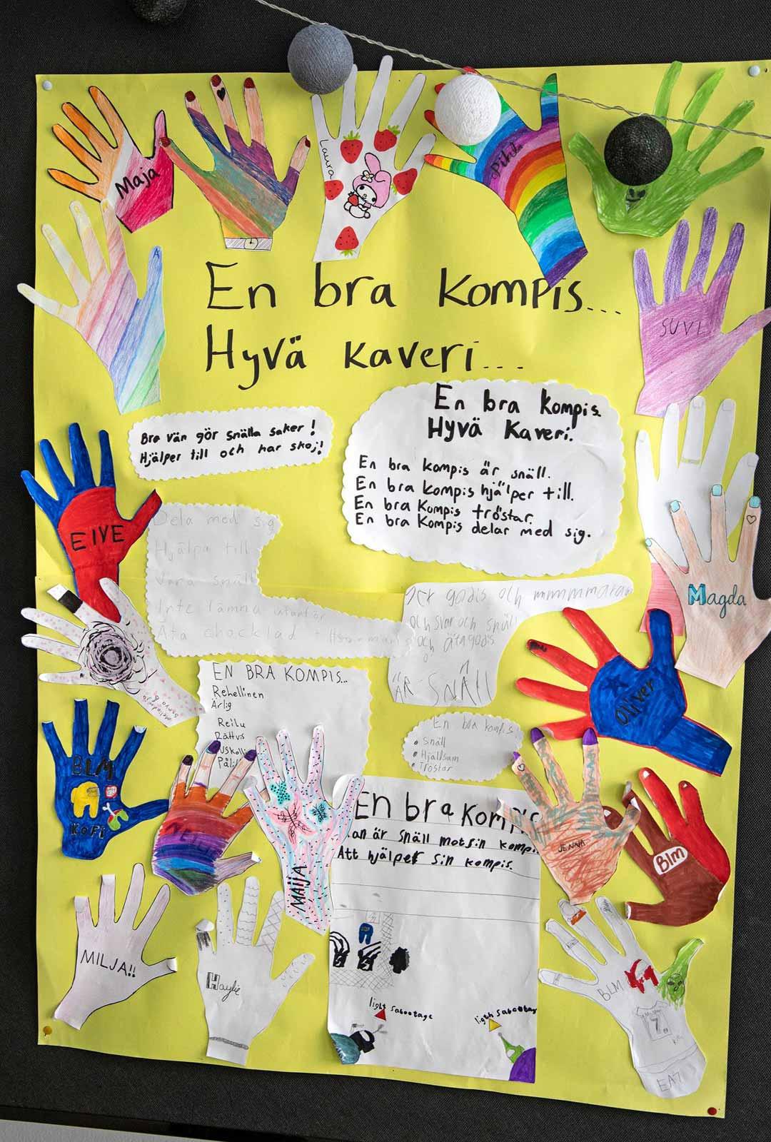 Ruotsinsuomalaiseen kouluun on jonotuslista. Kielikoetta ei ole, mutta jonkinlainen kytkös suomalaisuuteen tarvitaan.