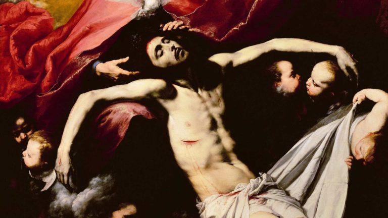 Jeesuksen kuolemasta on tuhansia taideteoksia, mutta onko siitä tallessa myös aito käärinliina? Kuvan öljymaalaus on tehty 1632–1636.