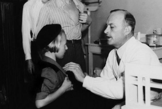 Lasten vapaaehtoinen rokotus