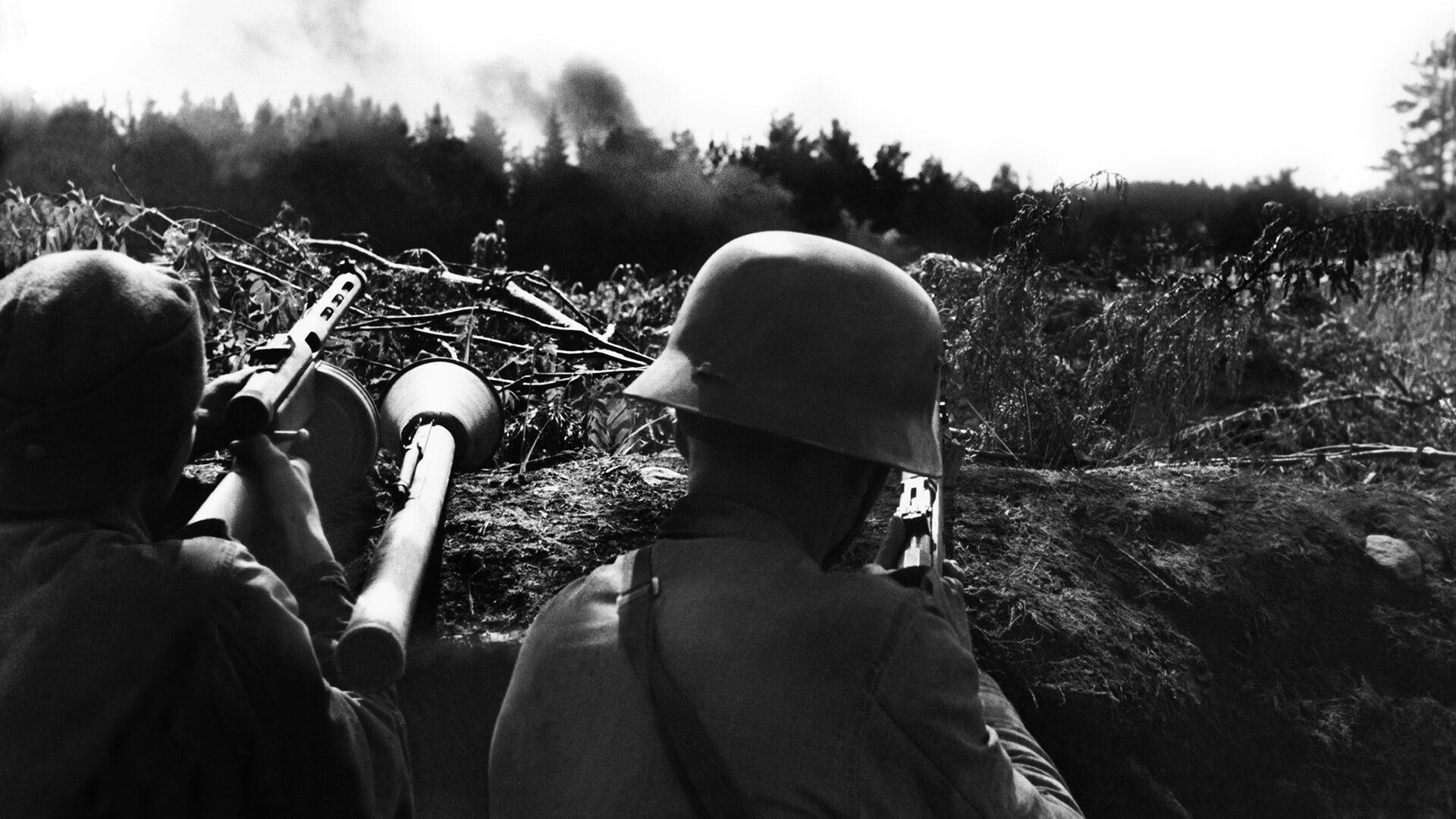 sotilaat kannaksella