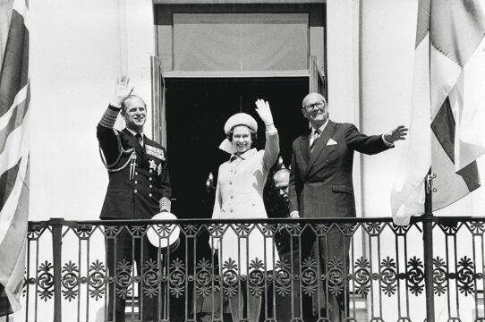 Prinssi Philip, Kuningatar Elisabet, Urho Kekkonen