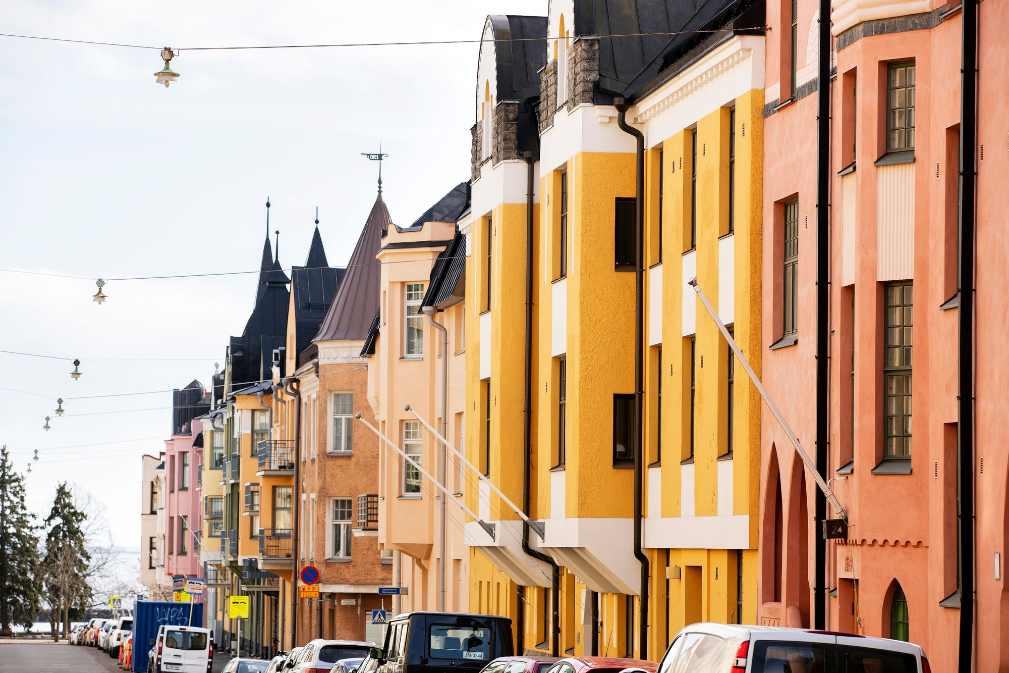 Huvilakatu on Helsingin helmi. © Tommi Tuomi/Otavamedia