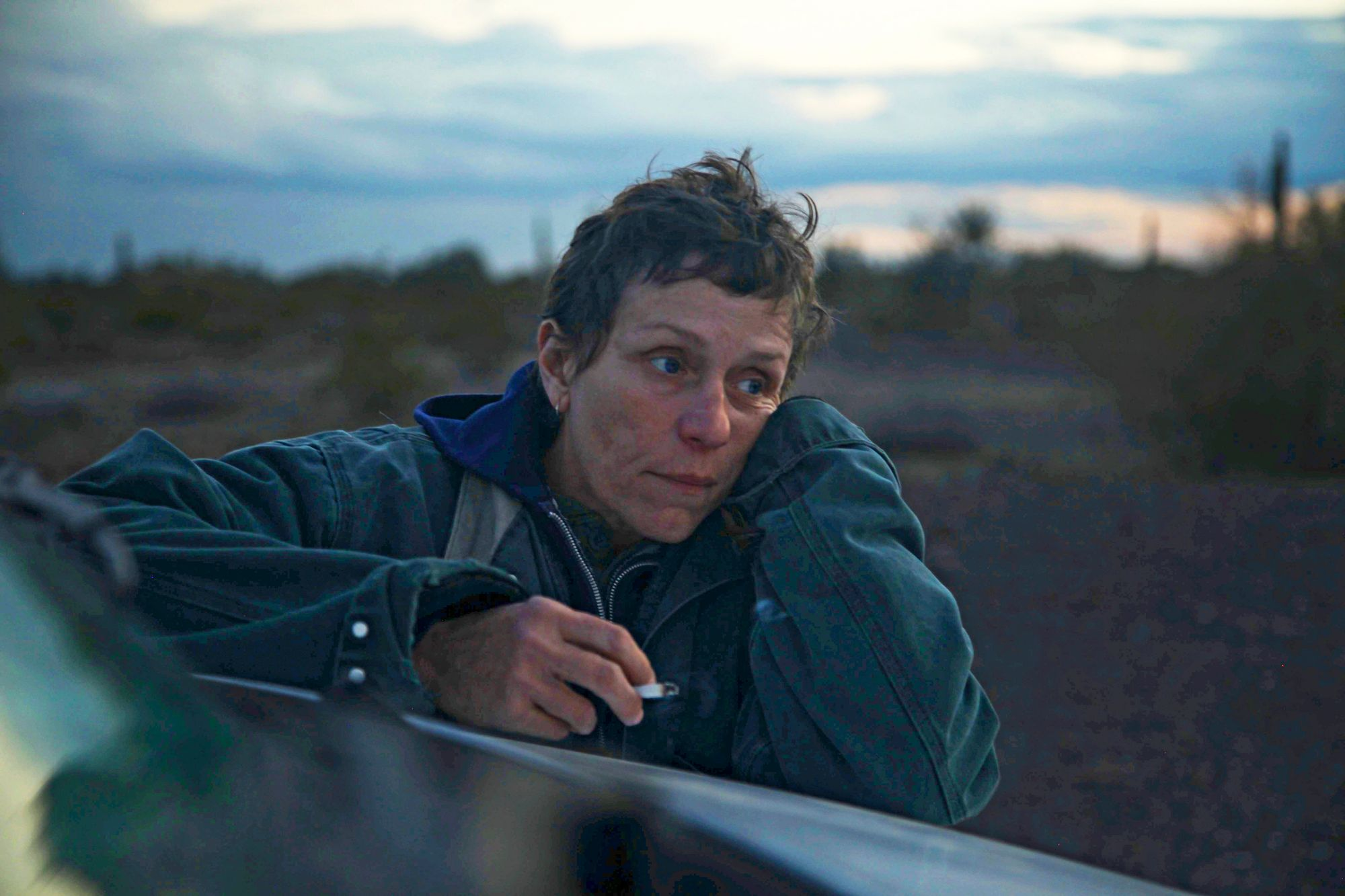 Frances McDormand in the film NOMADLAND. Photo by Joshua James Richards. © 2020 20th Century Studios All Rights Reserved © null