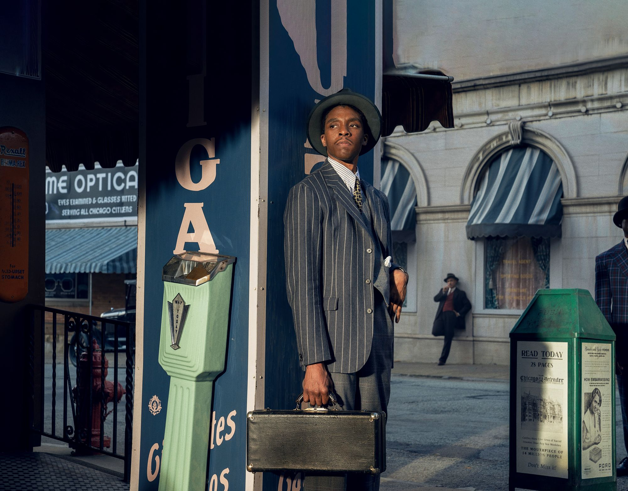 MA RAINEY?S BLACK BOTTOM (2020) Chadwick Boseman as Levee. Cr. David Lee/NETFLIX © ᅡᄅ 2020 NETFLIX, I