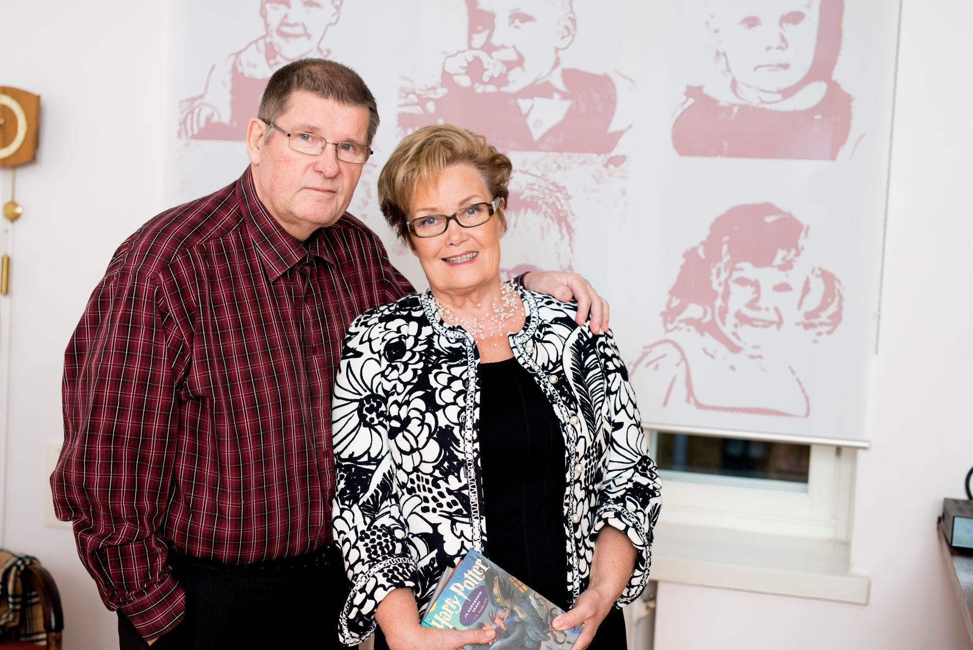 Matti Fredi Siitonen ja Eva-Riitta