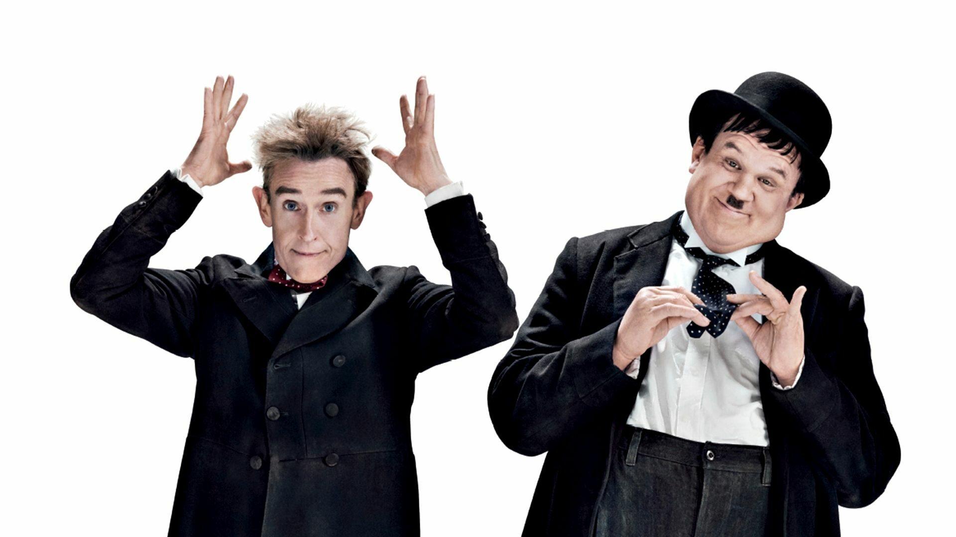 Steve Coogan ja John C. Reilly muuntautuvat vaikuttavasti koomikkolegendakaksikko Oliver Hardyksi ja Stan Laureliksi.
