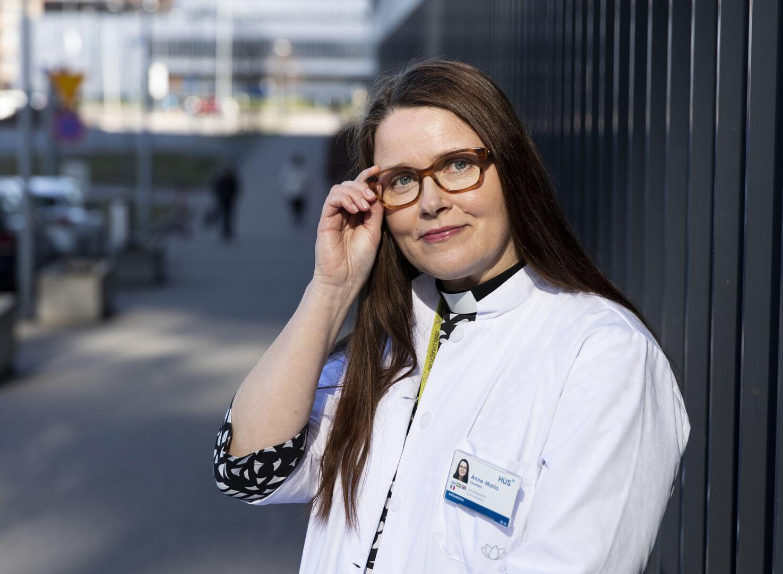 Sairaalapastori Anne-Maria Oikarinen