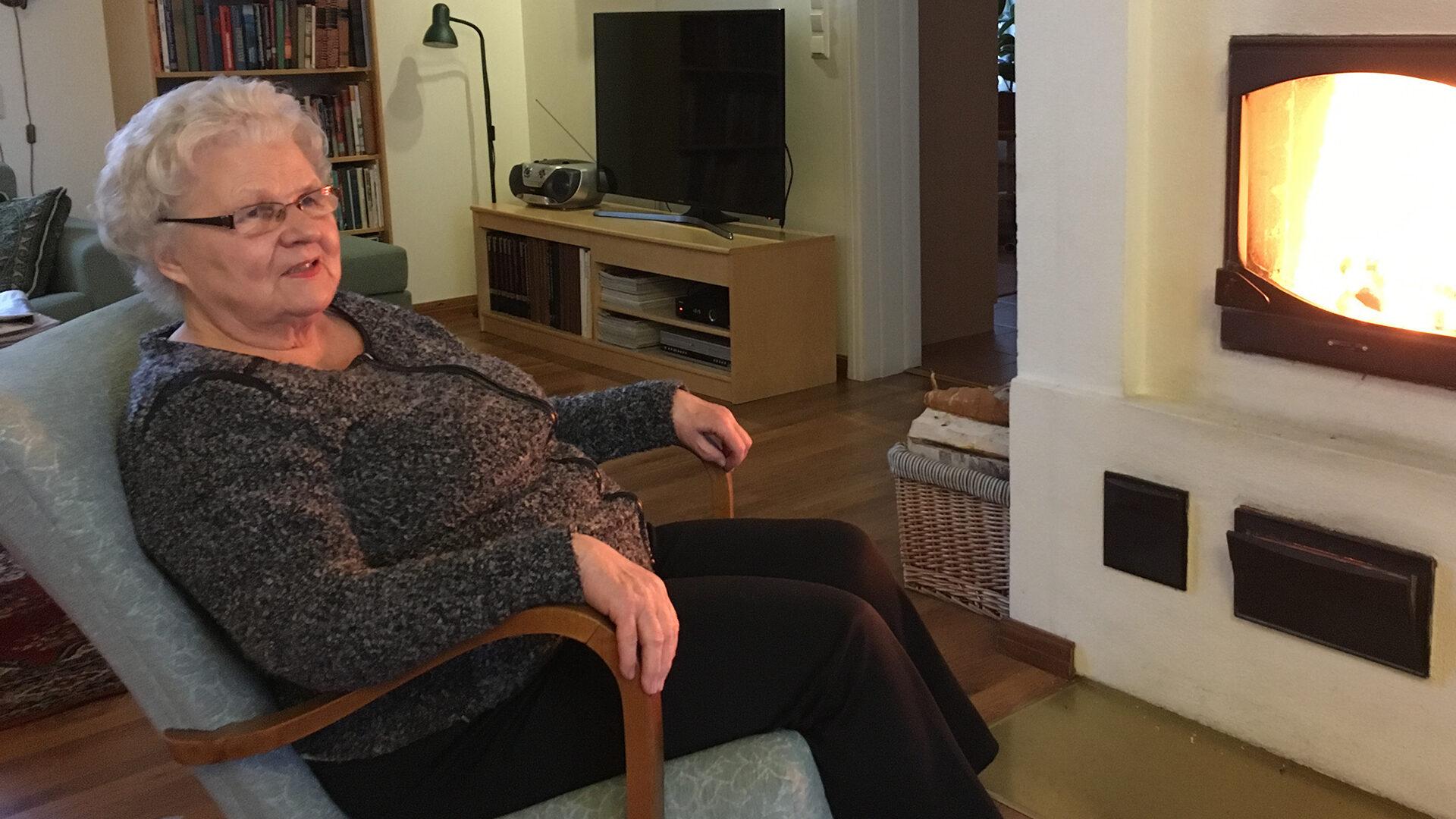 Eila Kaijärvi-Pekkola ryhtyi eläkkeellä yrittäjäksi.
