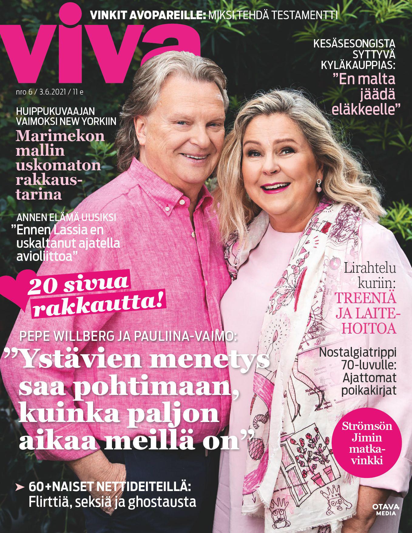Kesäkuun Viva-lehti
