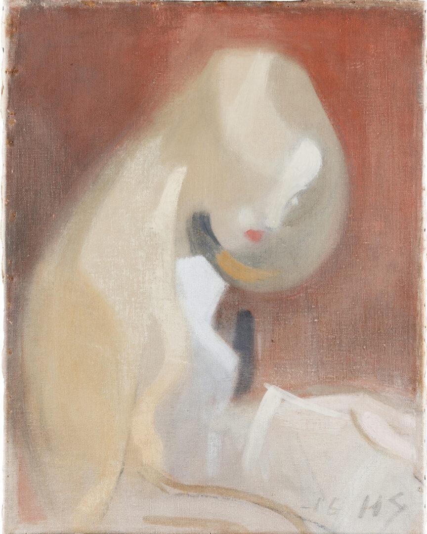 Vaaleatukkainen tyttö on Helene Schjerfbeckin maalaus vuodelta 1916.