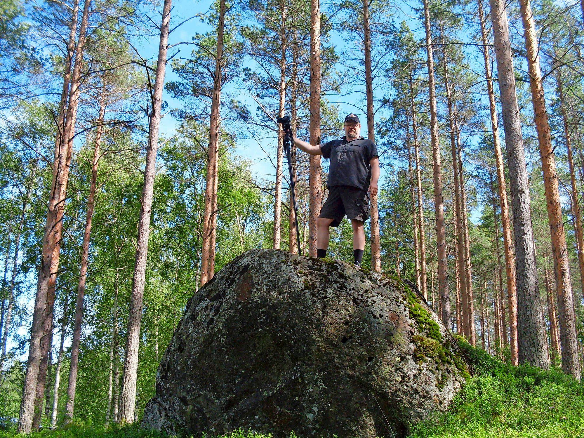 Vuonna 2009 Markus ei ollut vielä ihan maksimimitoissaan, mutta ahdas olo oli jo alkanut vaivata. © Markus Hotakaisen kotialbumi