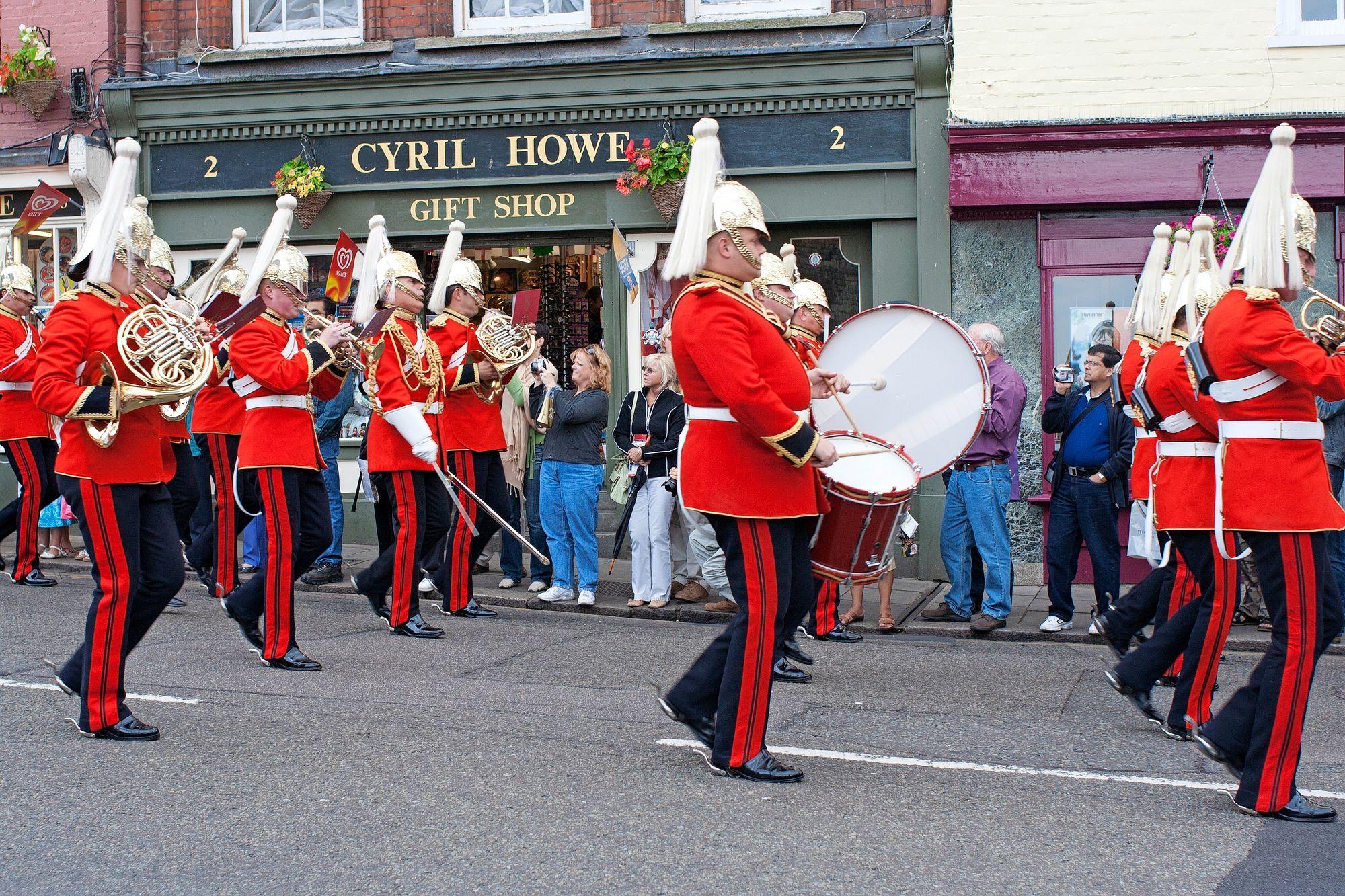 Tänä vuonna Windsorissa ei järjestetä perinteistä Trooping the Colour -paraatia. © Dougall Photography