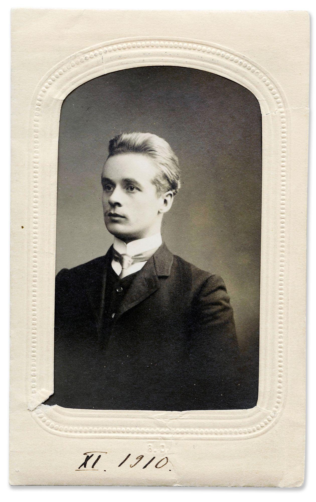 Juhani Siljo oli Ain'Elisabetin suuri rakkaus, jonka hän menetti sotaan. © Mikko Forsberg, Atelier Aino/SKS-arkisto