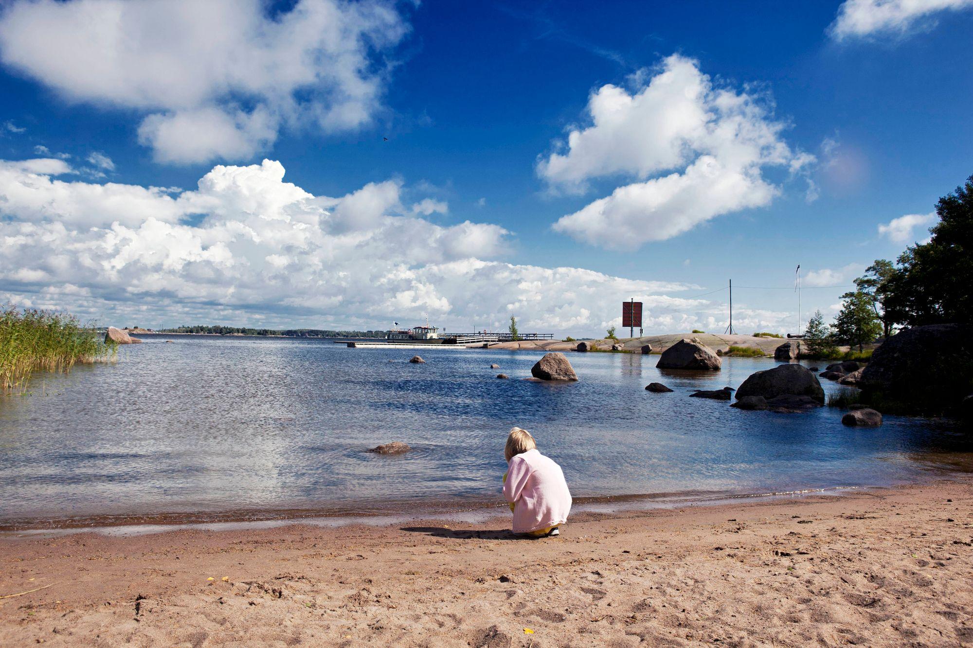 Varissaaressa voi nauttia rantaelämästä. © Sampo Korhonen/Skoy