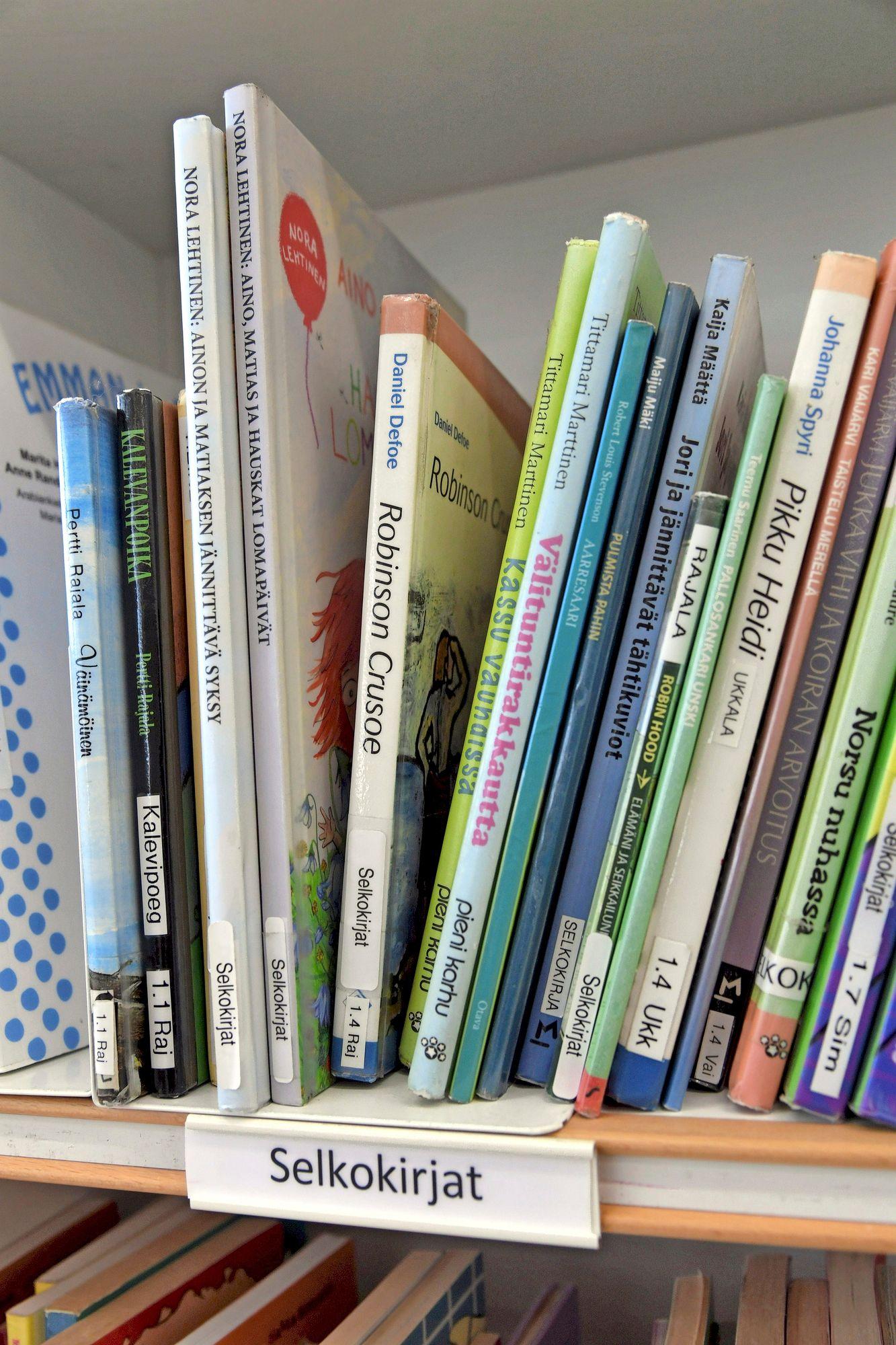 Selkokielisiä kirjoja. © Markku Ulander / Lehtikuva