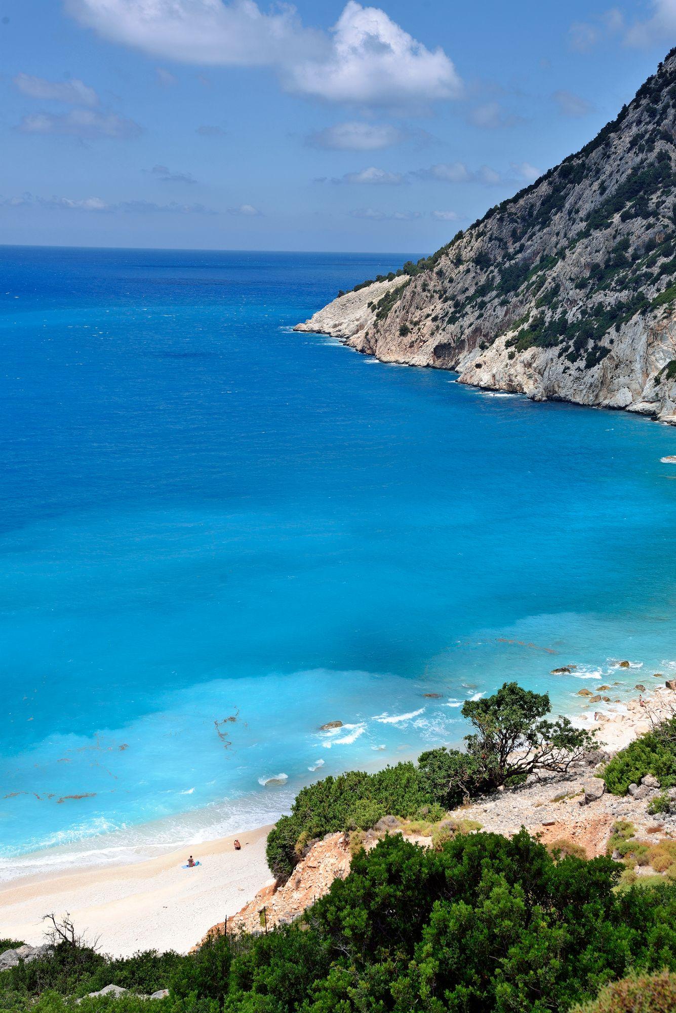 Myrtosin rantaa pidetään yhtenä Kreikan kauneimmista. © Pekka Numminen