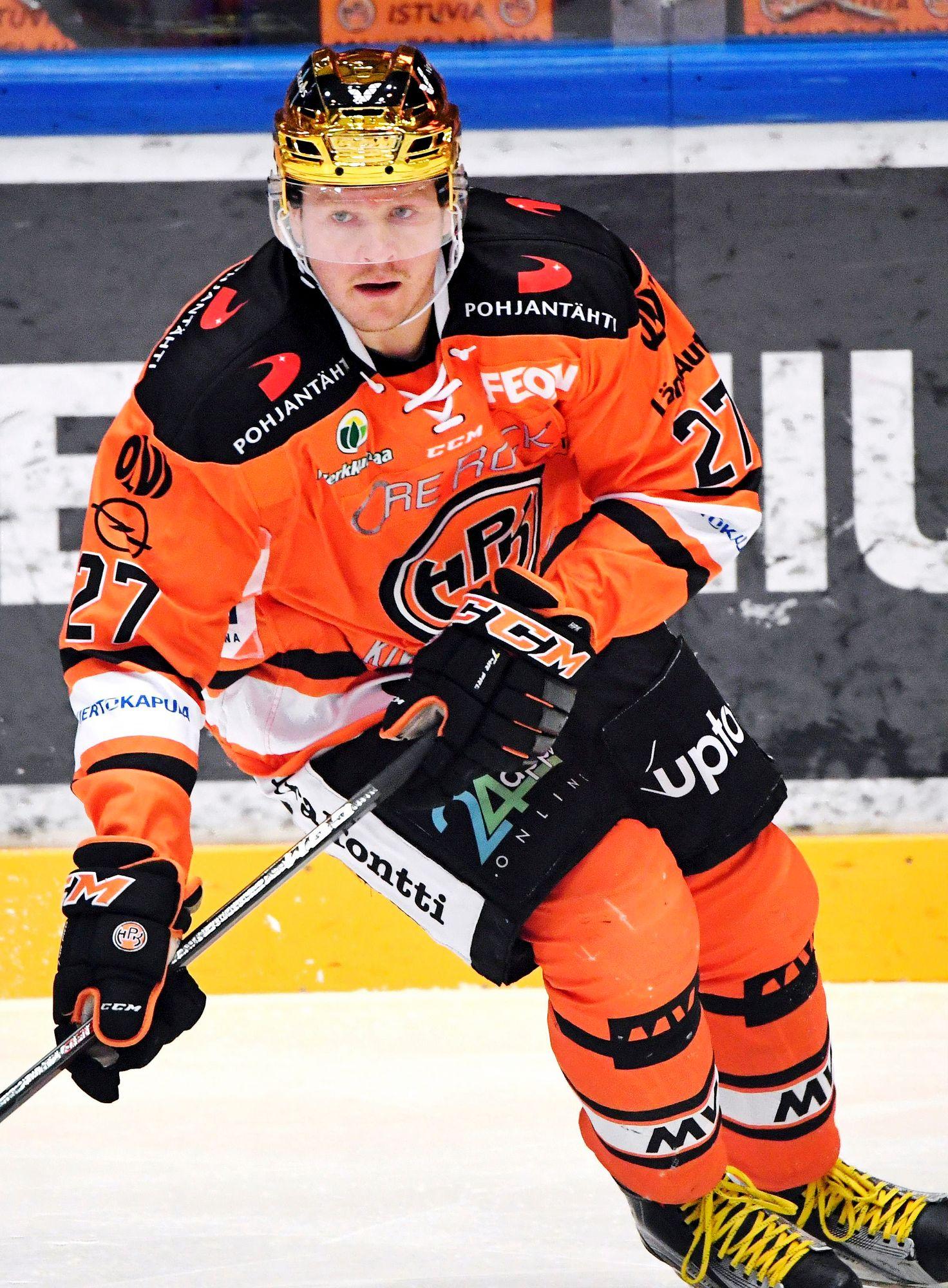 36-vuotias Petri Kontiola voitti Liigan pistepörssin ja valittiin sarjan parhaaksi pelaajaksi. © Jussi Nukari/Lehtikuva