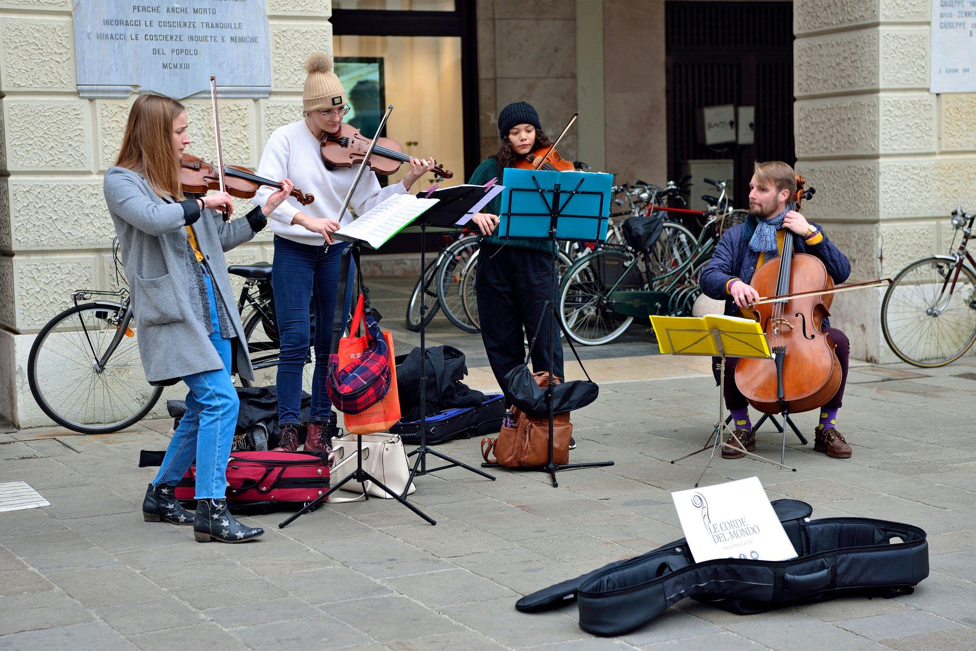 Piazza dei Signorilla soi usein klassinen musiikki. © Pekka Numminen