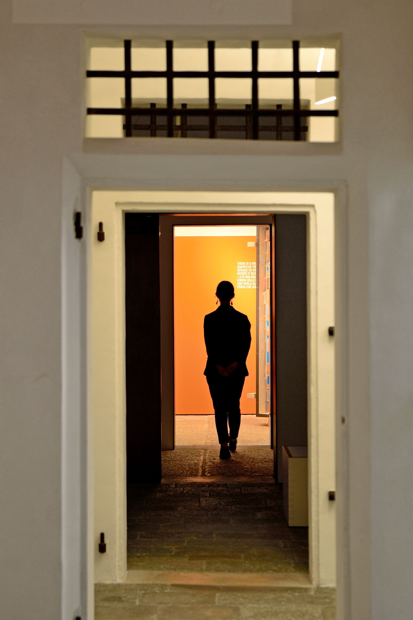 Entiseen vankilaan tehdyssä Gallerie delle Prigionissa on esillä nykytaidetta. Museon pääsponsori on Benettonien perhe. © Pekka Numminen