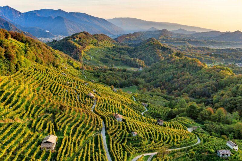 Treviso on Italian vauraimpia kaupunkeja.