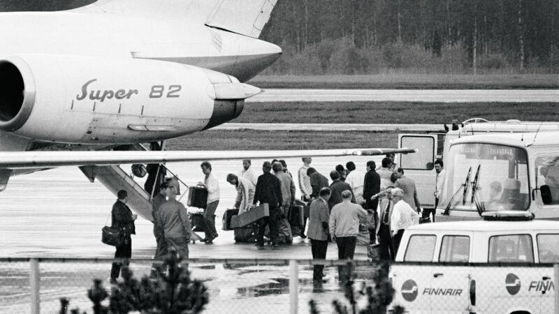 Poliisin erikoisvalmiusyksikkö Oulun lentokonekaappaus