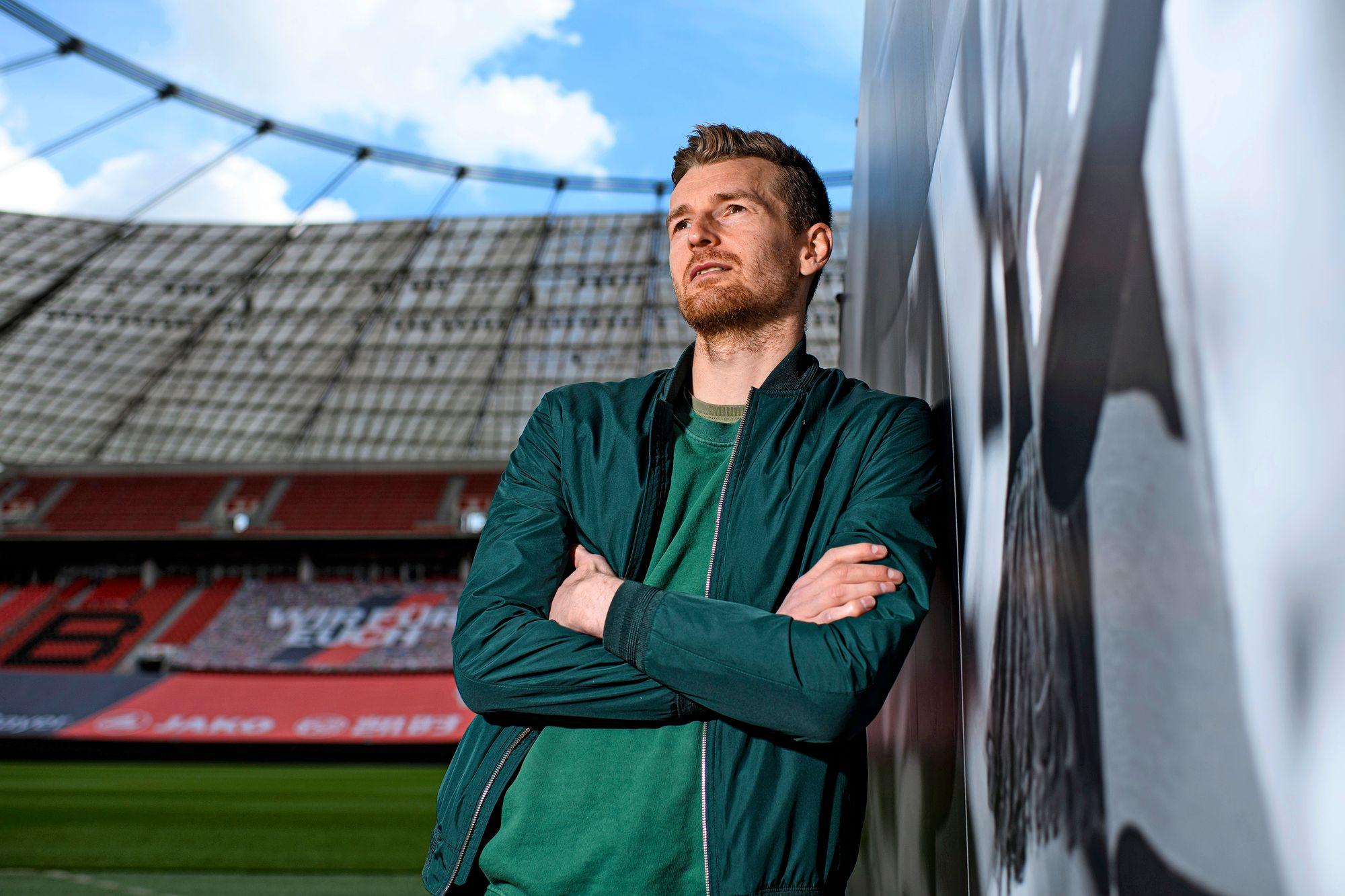 Bayer 04 Leverkusenin ykkösmaalivahti Lukas Hradecký