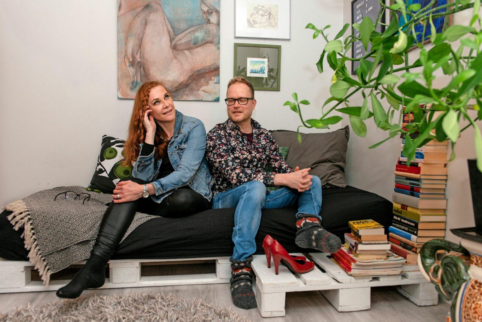 Jukka Behmin ja Katariina Hakaniemen ystävyys