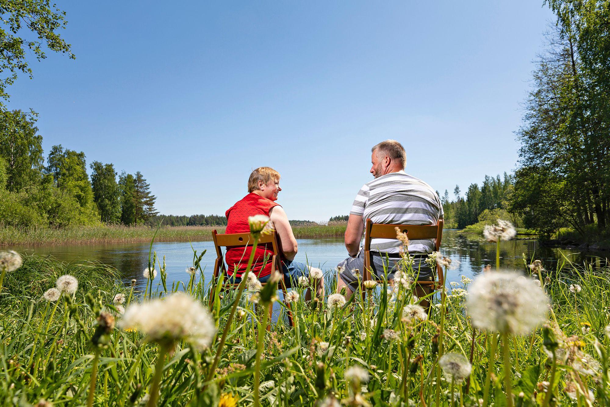 Kalastushimo vei Kolarit aikoinaan asuntoautoilijoiksi ja vaeltajiksi. © Petri Jauhiainen