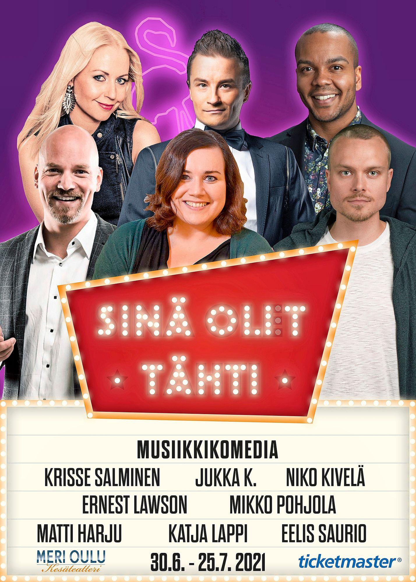 Sinä olit tähti © Meri Oulun Kesäteatteri