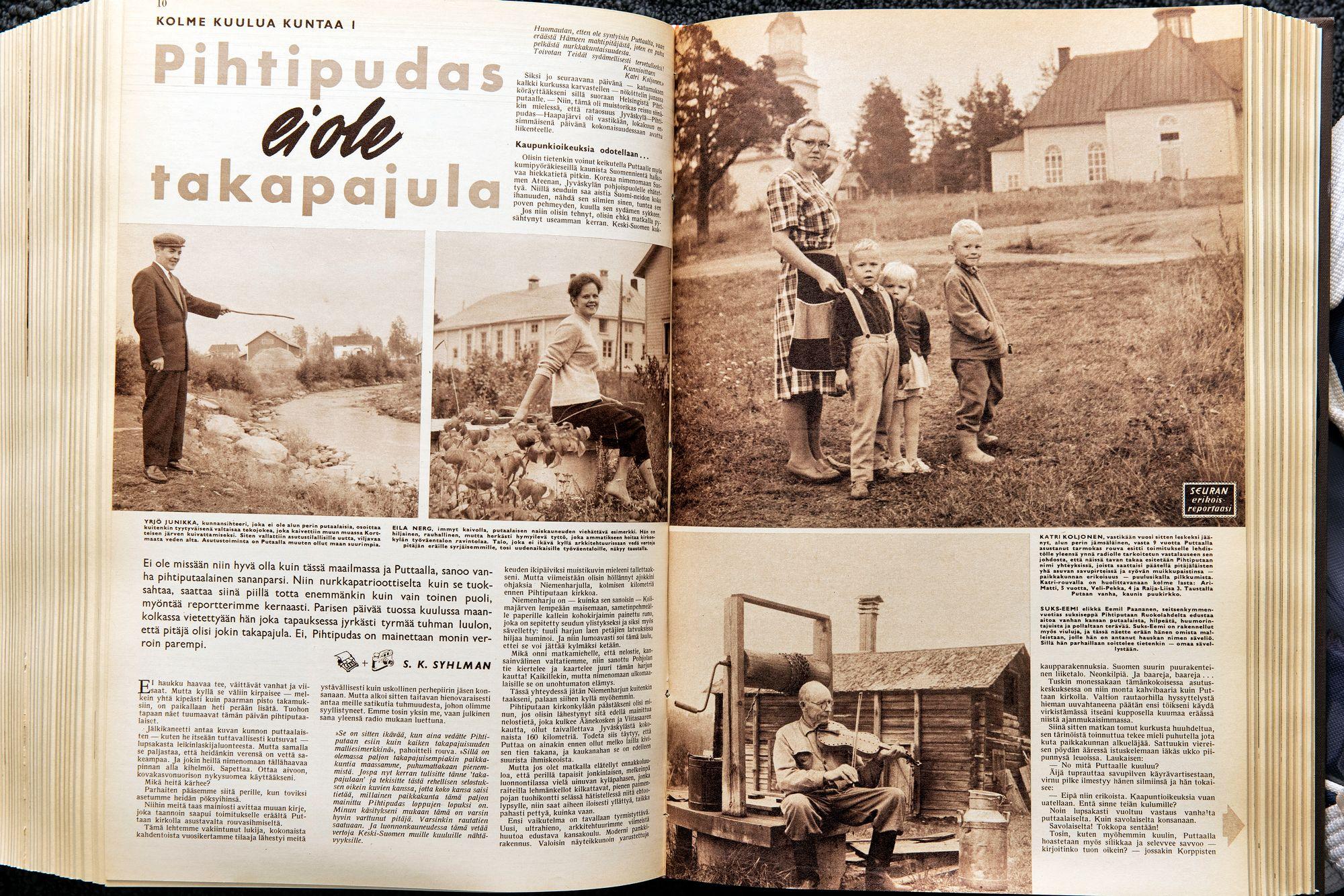 Pihtipudas Seurassa 1960 © Otavamedia / arkisto