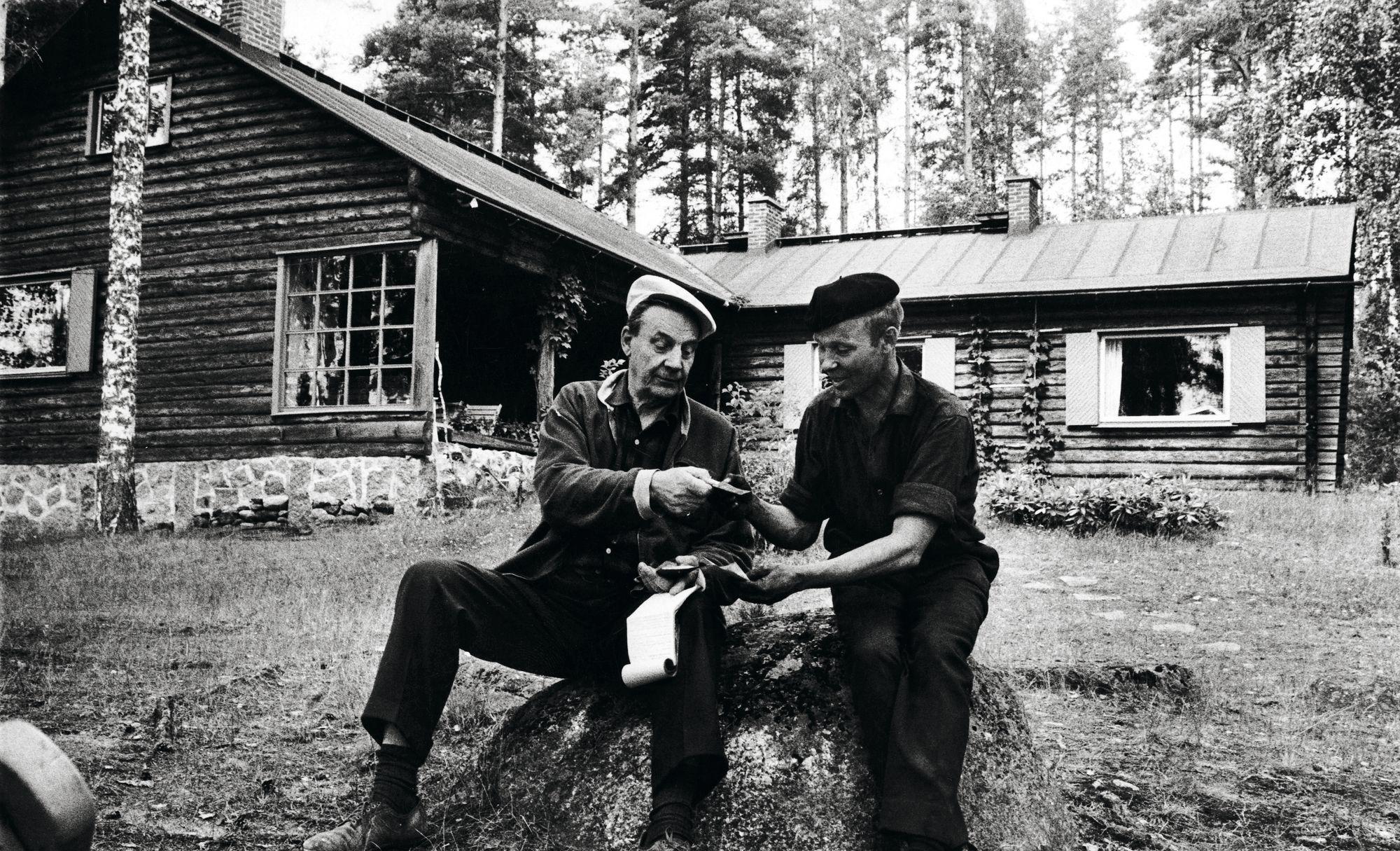 Näin suomalaiset tähdet juhlivat: Suvirannan kimppahuvila oli näyttelijöiden kesäparatiisi. © Jorma Komulainen/Skoy