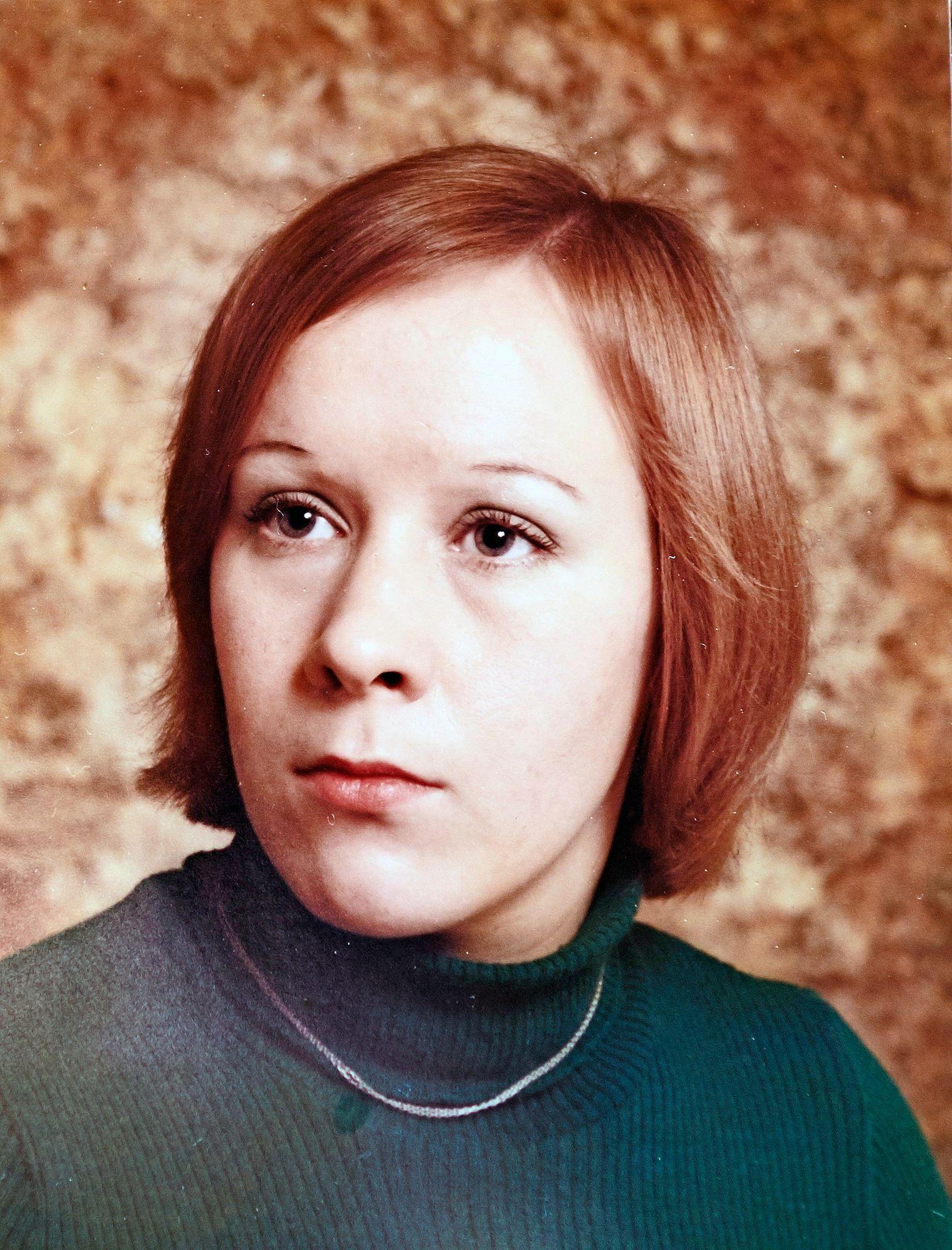 Riitta Hautala 22-vuotiaana © Riitta Hautalan kotialbumi