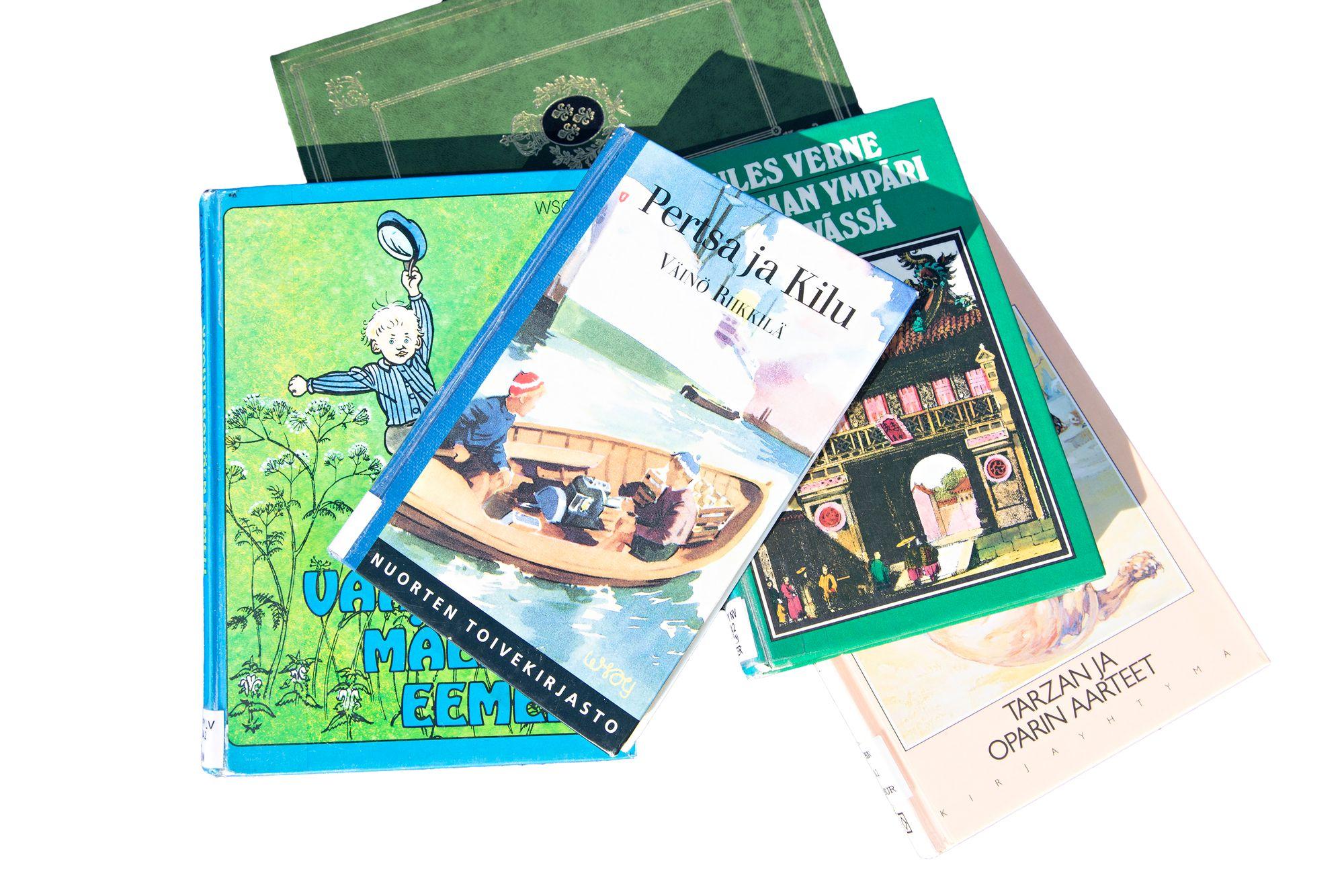 Lapsuudessa ja nuoruudessa luetuista kirjoista saa aikuisena hauskan aikamatkan vuosikymmenten taa. © Pekka Nieminen