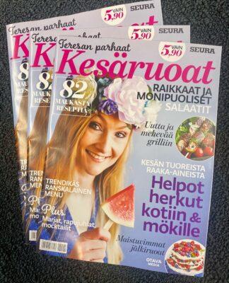 Teresa Välimäki ja Teresan kesäruoat -kesälehti