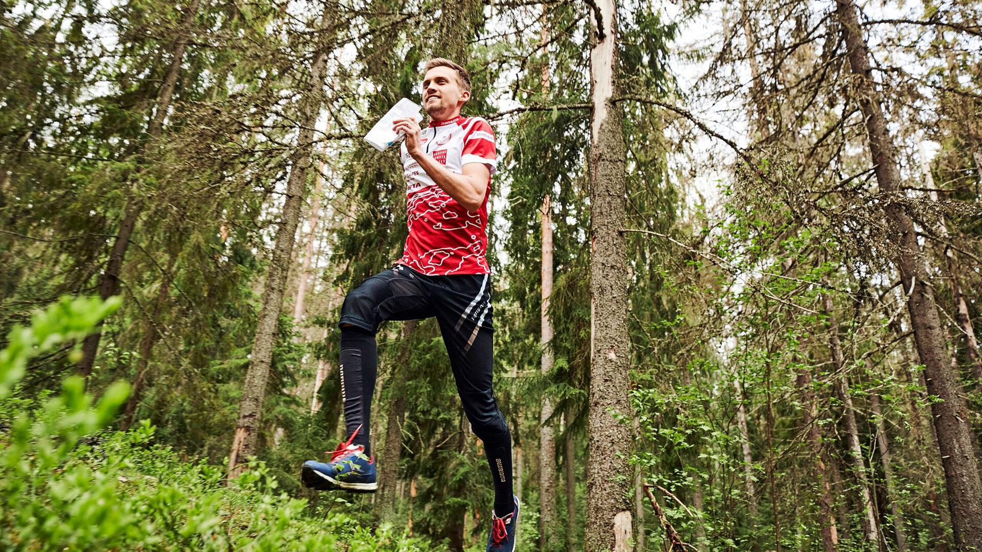 MM-mitalisti huippusuunnistaja Aleksi Niemi