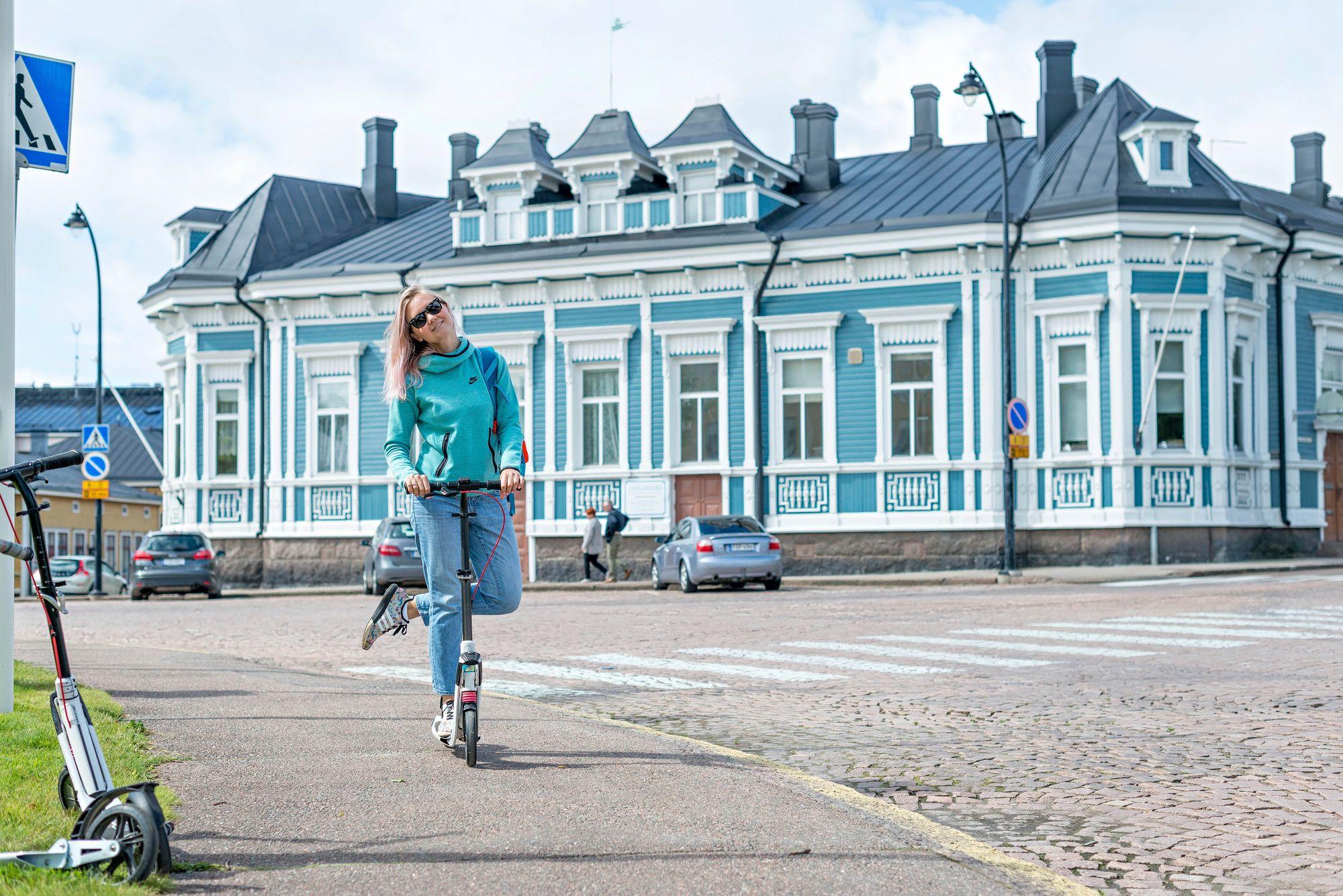 Tanelinkulman talo edustaa uusrenessanssista tyyliä. © Juulia Kivelä / Visit Hamina