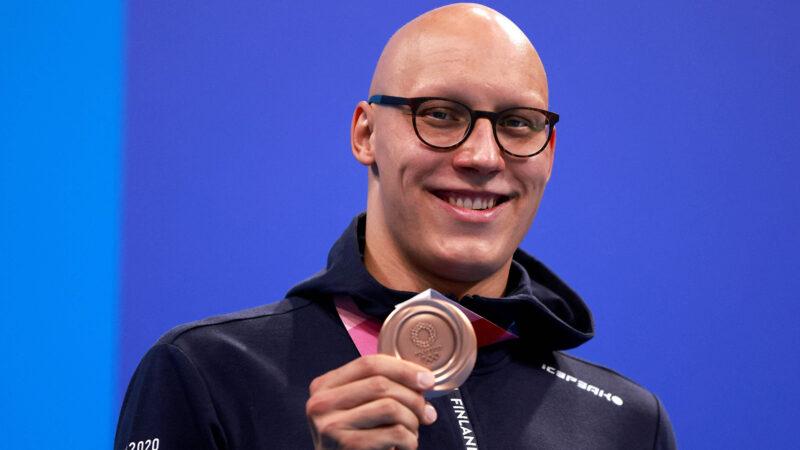 Matti Mattsson nappasi Tokiossa olympiapronssia.